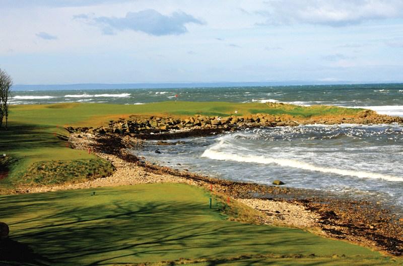Hole 15 at Kingsbarns Golf Club