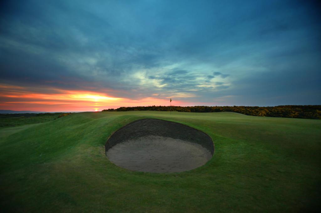 Royal Dornoch Golf Club 2nd hole photo Kevin Murray Photography