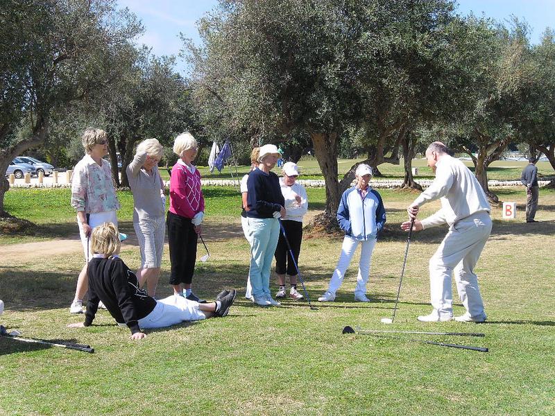The Mark Howell golf school at Donnafugata Resort, Sicily