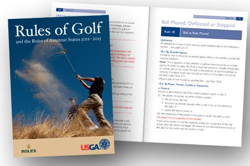 golf rule book
