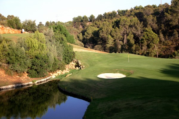 12th green at Real Golf de Bendinat
