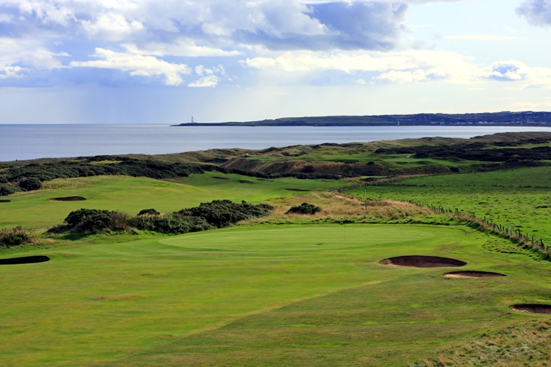 the 13th hole at Murcar Golf Club