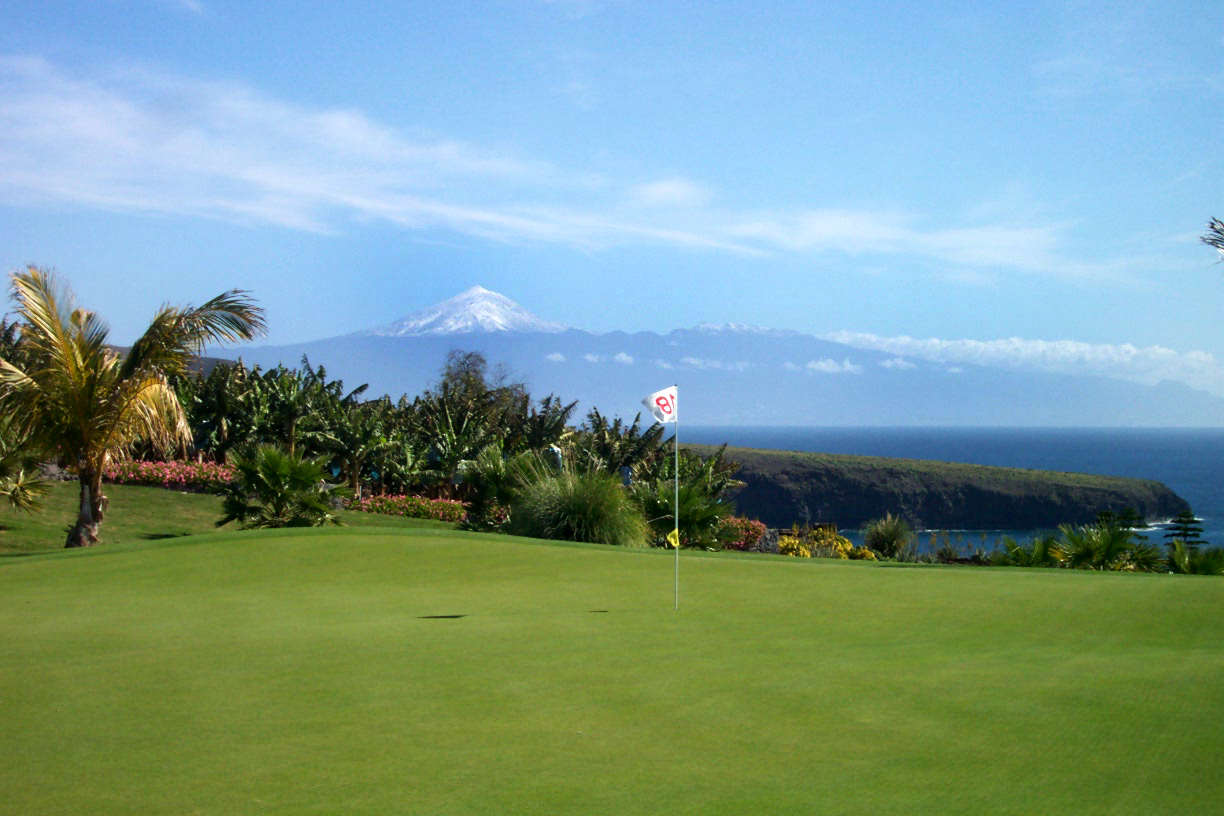 Views and Volcanoes at Tecina Golf