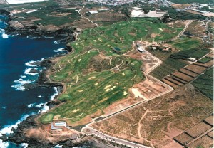 Seve Ballesteros designed Buenavista Golf Club in Tenerife