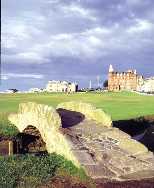 18th hole at St Andrews Old Course