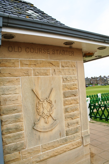 The gateway to golfing dreams - The Old Course Starter's Hut