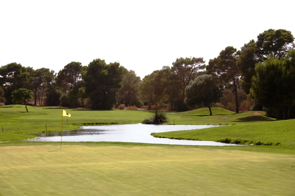 The 9th at Son Antem West Course