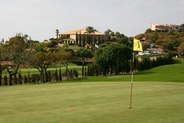 View of the stylish clubhouse at Vall D'or Golf