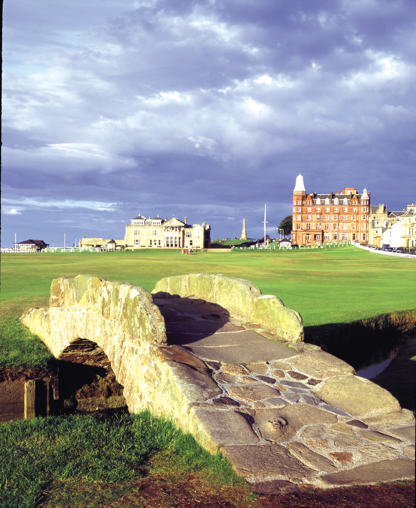 The Swilken Bridge at The Old Course St Andrews
