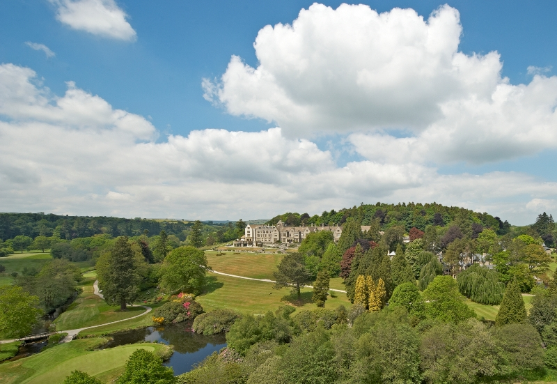 Magnificent country estate and golf course at Bovey Castle