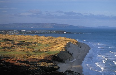 Northern Ireland's famous golf links at Portrush