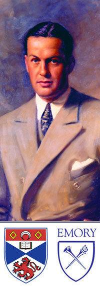 Portrait of golfer Bobby Jones
