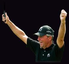 Golfer Gary Player