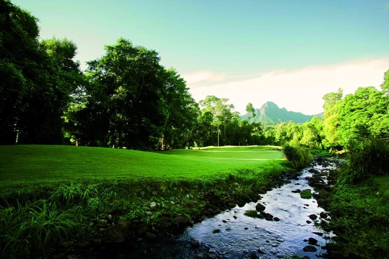 Jungle-golf in Malaysia credit The Datai