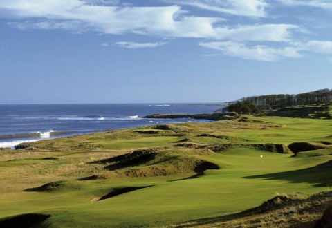 6th hole at Kingsbarns Golf Links