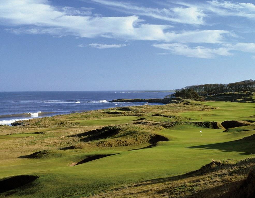 6th hole at Kingsbarns Golf Links