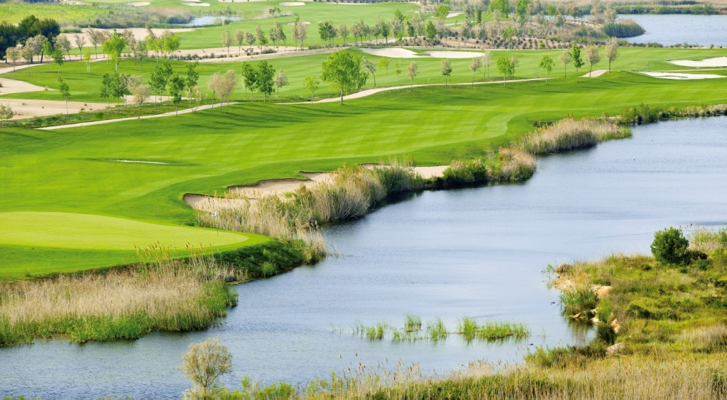 The Lakes Course at Lumine Golf Club