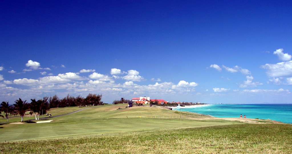 Cuba's only 18-hole golf course