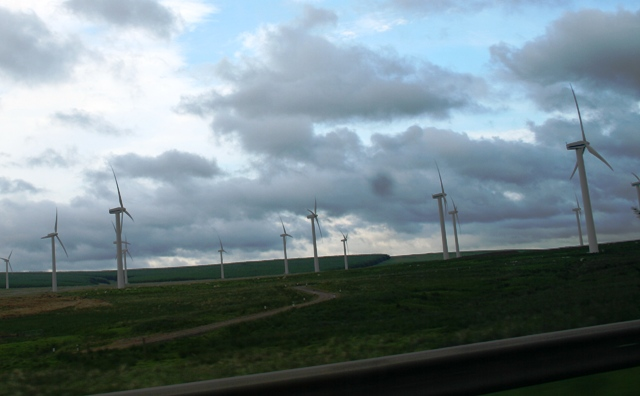 Wind farm onshore