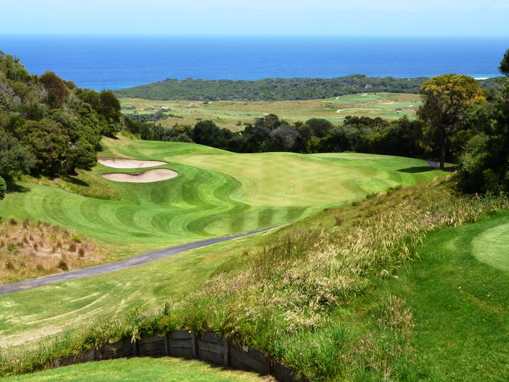 Ocean views and great par 3's at Cape Schanck Golf
