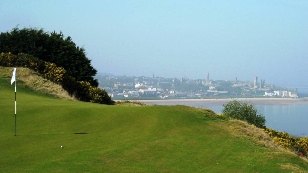 6th Green at Castle Course St Andrews