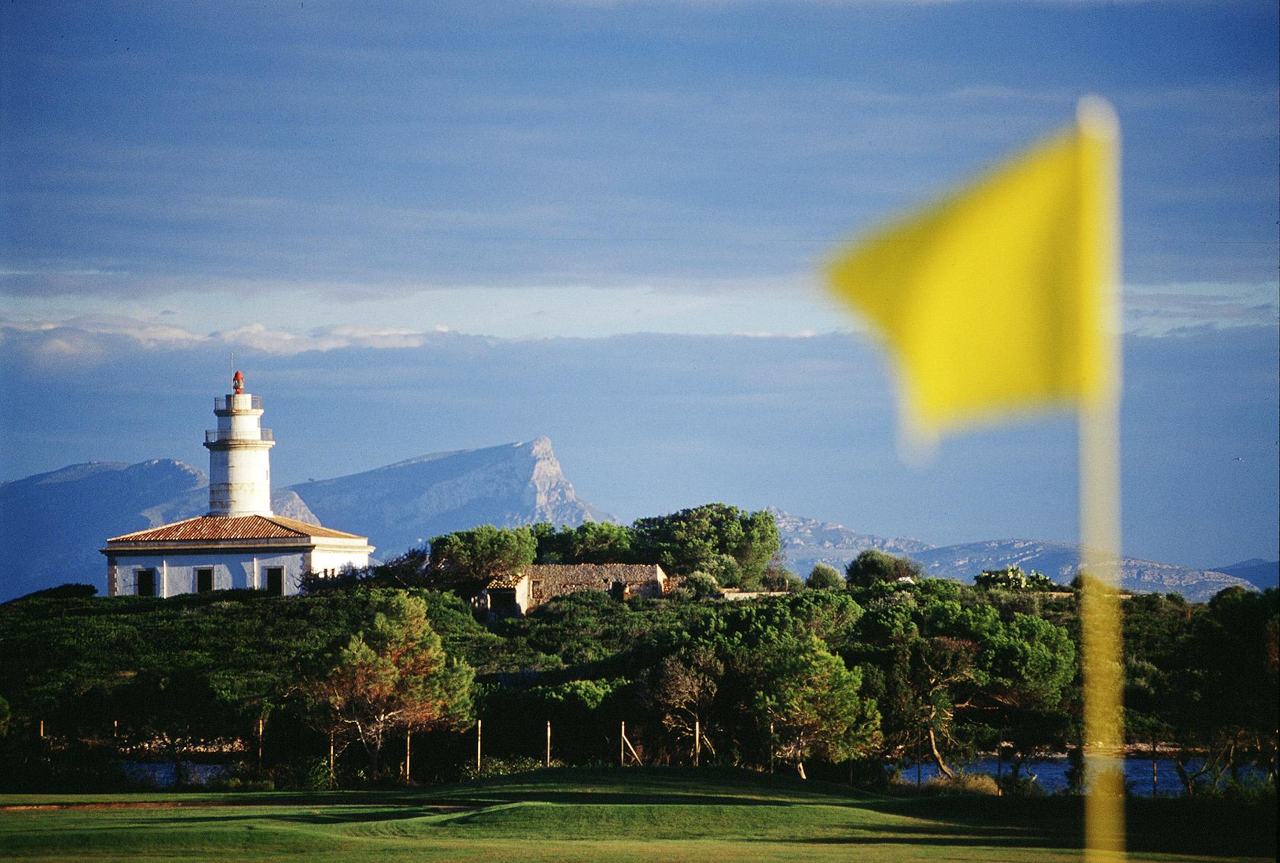 The lighthouse at Alcudia Bay Mallorca