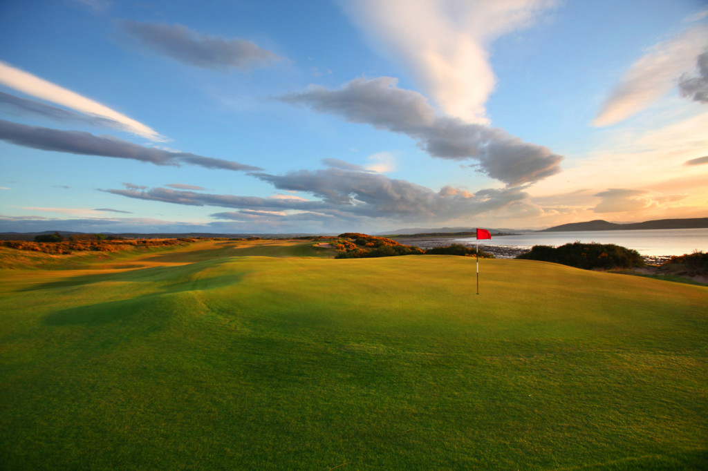 The 9th at Castle Stuart Golf Links