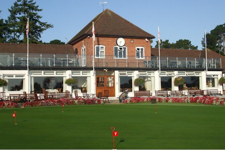 Clubhouse at Ferndown Golf Club