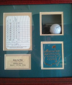 Hole in One Trophy Augusta National Golf Club