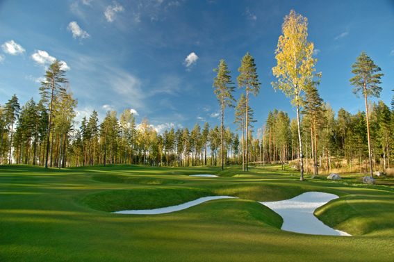 Linna Golf Finland 4th hole