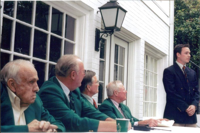 The Butler Cabin at Augusta National
