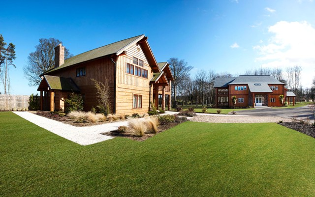 Luxury Lodges at Archerfield Links