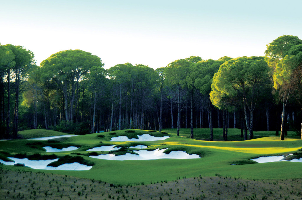 Heather and Bunkers abound at Carya Golf