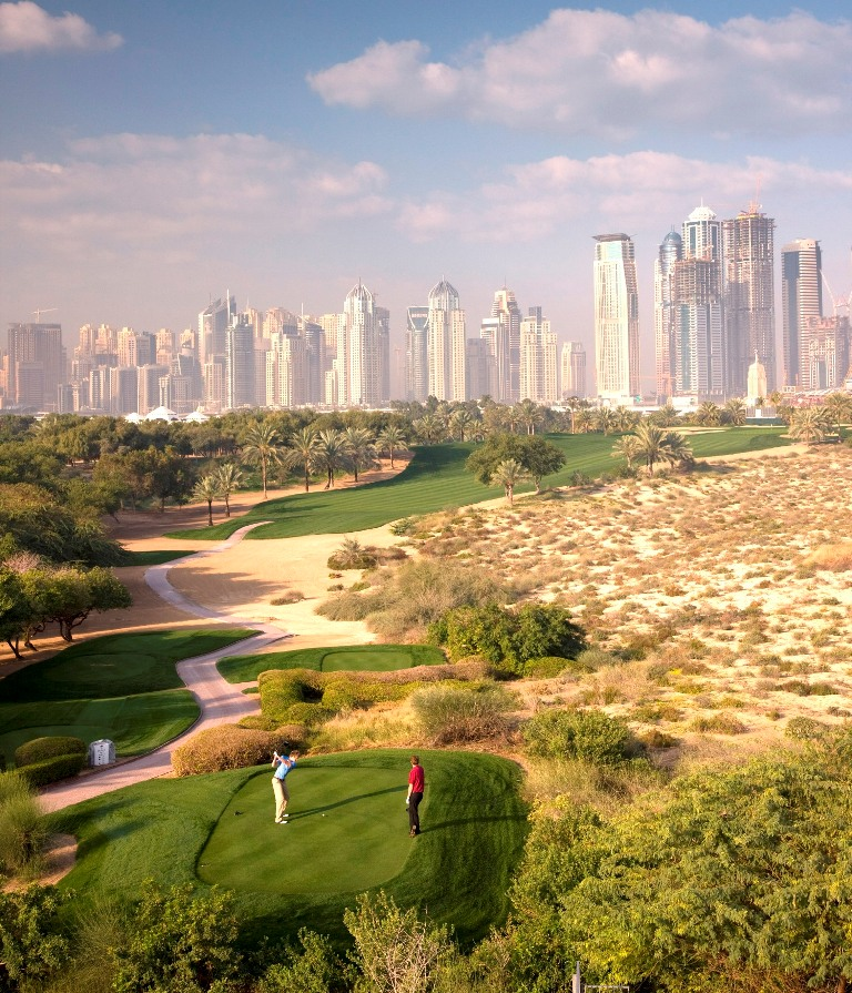 Golf is booming in the UAE