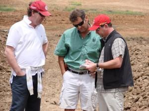 Gaunt Golf Design on site in Morocco
