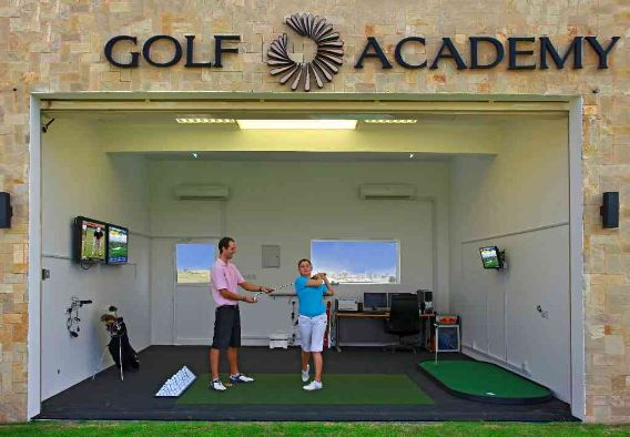 PGA Professional Alex Day teaching at Muscat Hills, Oman