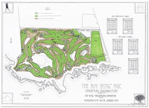 Master plans for the Olympic Golf Course in Rio, Brazil 2016 - photo www.rio2016.com