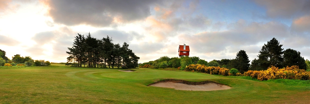 The famous House in the Clouds at Thorpeness Golf Club