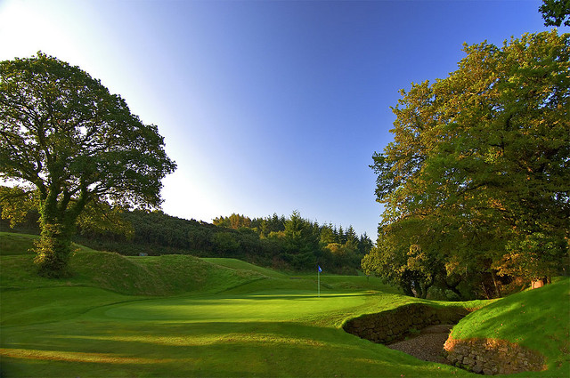 St Mellion 10th hole Nicklaus course