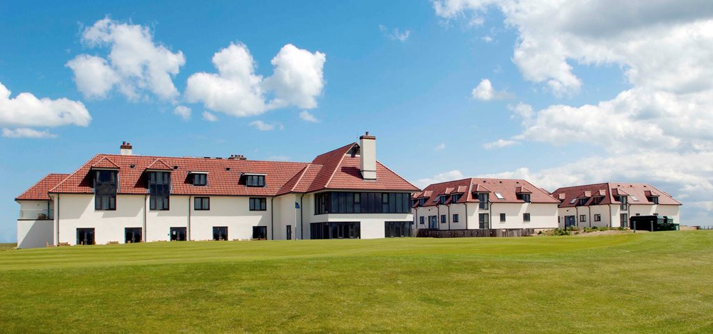 Golfer's lodge at Prince's Golf Club