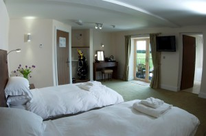 Bedroom at The Lodge at Prince's