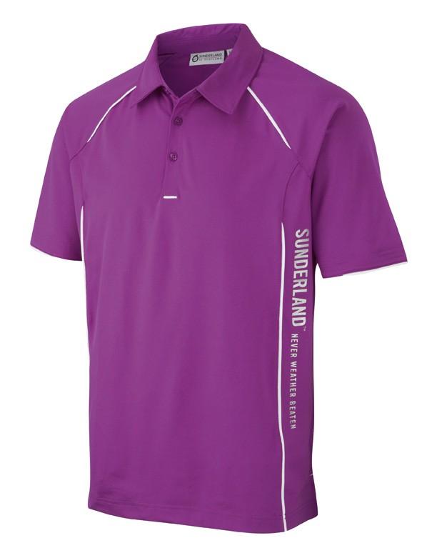 Sun protecting golf shirts from Sunderland