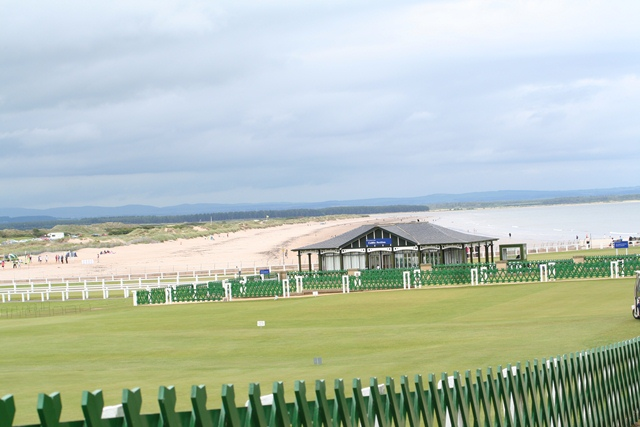 The Caddie Pavillion at St Andrews Old Course