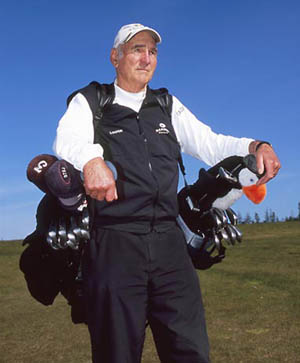 Technology is taking on tradition when it comes to golf caddies
