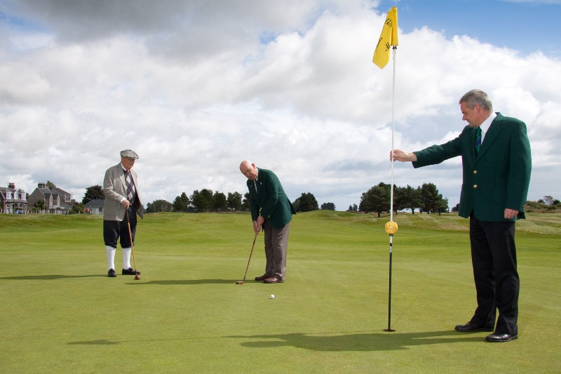 Play golf with Hickory Clubs at the World Hickory Open