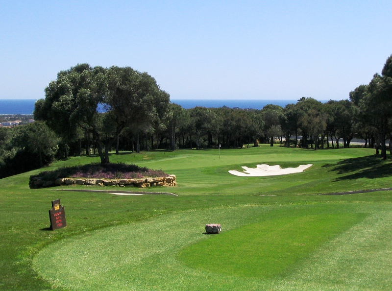 14th hole at La Reserva Golf Costa Del Sol