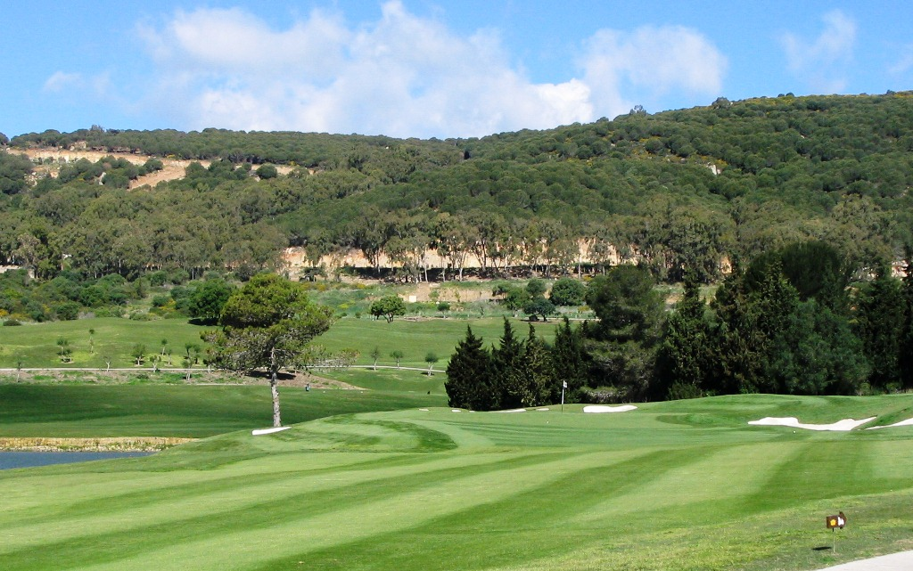 Second hole at La Reserva Golf Club, Costa Del Sol