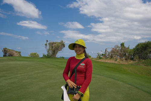 New Kuta Golf caddy