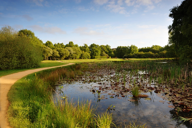 Is this the greenest golf course in Britain?