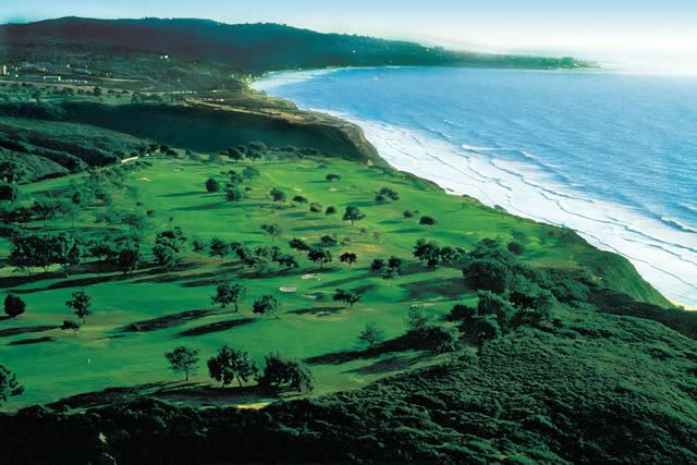 Torrey Pines is one of Tiger Woods' favourite golf courses